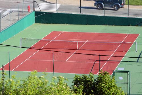 Fototapeta Tennis court