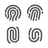 Set of fingerprint