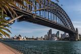 Sydney mit Harbour bridge und Opera
