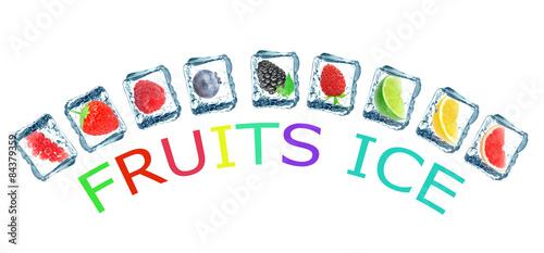 frozen fruit - 84379359