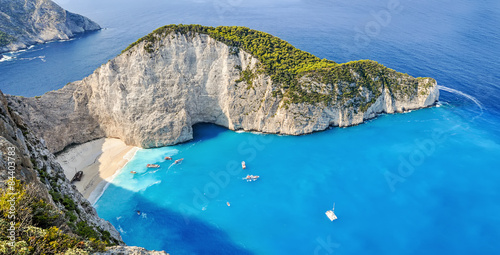 Navagio shipwreck beach, Zakynthos, Greece