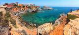 Coastline of Costa Calida in Murcia region, Spain poster