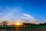 Sunset on a Maryland Farm