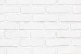 Fototapety Wall, brick, white.