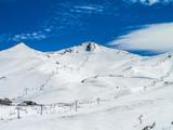 Montanhas do Vale Nevado Chile