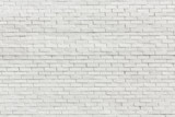 Fototapety White brick wall