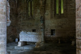 Tomb at the cloister of the Cathedral of Evora