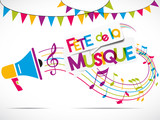 mégaphone : fête de la musique