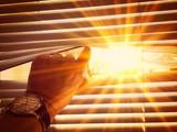 Warm sun on midday