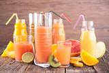 Fototapeta fruit juice