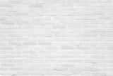 Biała grunge ceglany mur tekstury tła