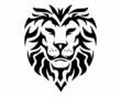 black lion head