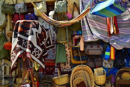Greek souvenirs street market memorabilia