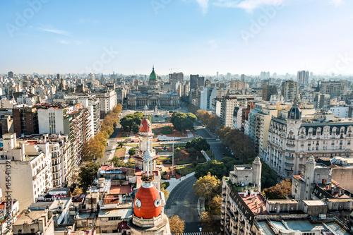 Aluminium Buenos Aires Congreso de la Nación Argentina, Buenos Aires Argentinien