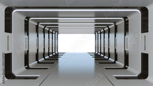 Futuristischer Tunnel
