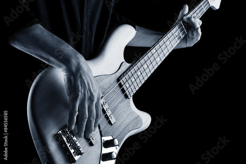 playing blues bass - 84556585
