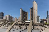 Toronto Rathaus im Sommer