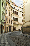 Old streets in the city of Prague - 84579794