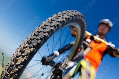 Fototapeta Bicycle, Cycling, Cyclist.