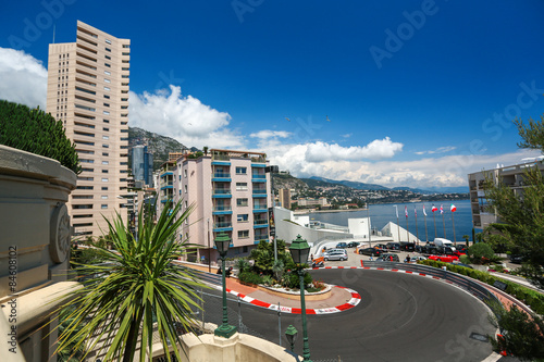 Canvas Formule 1 Monte Carlo, Monaco - 02 June 2014. Circuit de Monaco is a stree