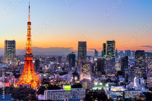Plagát, Obraz Tokyo, Japan.