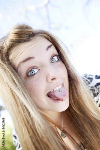 Id Teen Woman Blond 72