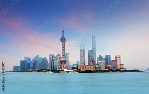 Plakát, Obraz Šanghaj, Čína