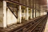 Fototapety Chambers Street Subway Station - New York City