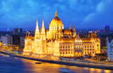 Budapest at night - Parliament, Hungary