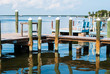 Ocean and Pier in Key Largo