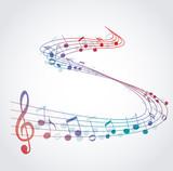 Fototapety Music Background