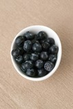 A bowl of blueberries - 84657554