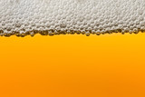 Beer with foam. Macro. - 84666924