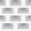 Seamless abstract grey and white texture pattern
