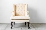 Fototapety beige retro chair