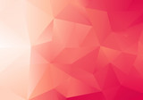Fototapety Abstract Low Poly Red Background