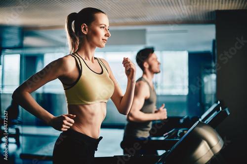 Practicing run