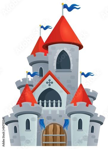 Obrazek motywu zamku z bajki 1