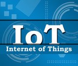 IoT - Internet Of Things Technical Background  poster