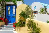 Fototapeta Alley Santorini Island Greece