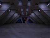 Fototapety sci fi  corridor