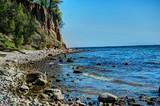 Urwisko w Orłowie nad brzegiem Morza Bałtyckiego w Gdyni