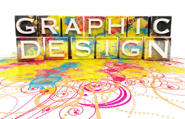 Graphic design concept isolated