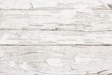 Fototapety Grunge peeling white paint wood texture.