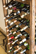 Collection of wine bottles.