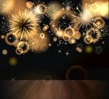 Fototapety Hintergrund mit Feuerwerk