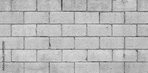 Fototapeta Concrete block wall texture and background seamless