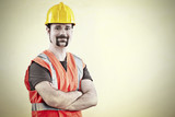 Portrait of a friendly worker - 84946954