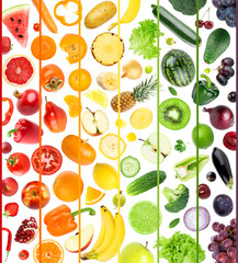 Fresh fruit and vegetable
