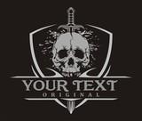 Skull Sword Shield